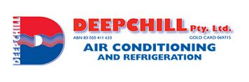 Deep Chill Air Conditioning and Refridgeration Logo